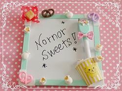 紙粘土で作るお菓子なスイーツデコレーション